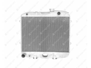 Радиатор водяного охлаждения 2-х рядный УМЗ-4213 ШААЗ (АЛЮМИН) (3160-80-1301010-02)