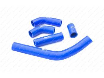 Патрубки радиатора Газель Бизнес дв. УМЗ 4216 (107 л.с.) (5 шт) (силикон)