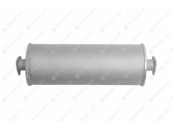 Глушитель УАЗ Патриот, 3160,3162,31604 дизель (Баксан) 2 фланца (3160-40-1201010-200)