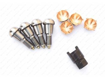 Ремкомплект шкворневого узла с/о(4 уса,вкладыш бронз., с ключом) (Ваксойл-Сервис)
