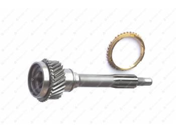 Вал первичный с кольцом синхронизатора ( 5-ти ст. КПП ) MetalPart (МР-255-1701030)