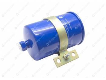 Фильтр топливный тонкой очистки Хантер, 3741 под штуцер инжектор с хомутом++ (3741-94-1117009-00)