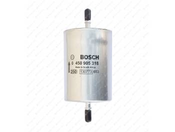 Фильтр топливный тонкой очистки УАЗ-Патриот, Пикап, Хантер Bosch(под защелку) (0 450 905 318)