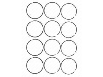 Кольца поршневые 95,5 Оригинальные з/ч ,широкие(жесткая упак.) (405-00-4640000-00)