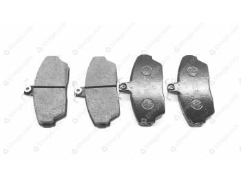 Колодка тормозная дисковая переднего тормоза Газель, ГаZ 3110, Собол_ь (Торнадо) (3302-3501800-02)