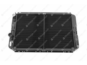 Радиатор водяного охлаждения Патриот под кондиционер 2-х ряд.(МЕДНЫЙ) /ширина 75 см./ (3163-00-1301010-30)