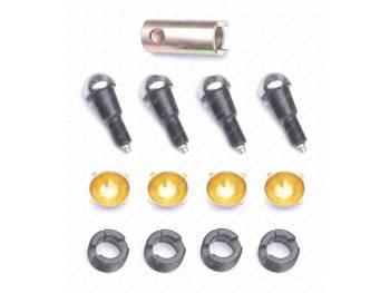Ремкомплект шкворневого узла 3162, 3163 Спайсер (вкладыш латунный с/о 4 уса) ExpertDetal (3162-00-2304019-03)