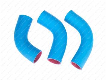 Патрубки радиатора УАЗ 90 л.с (3шт) (синие)