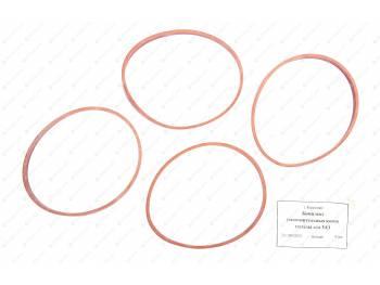 Кольцо уплотнительное гильзы (резин. 4шт) (min 5) красное /новинка/ (21-1002024)