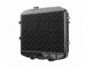 Радиатор водяного охлаждения 3-х рядный УМЗ-4213 (инжект.) ШААЗ (МЕДНЫЙ) (3160-80-1301010-02)