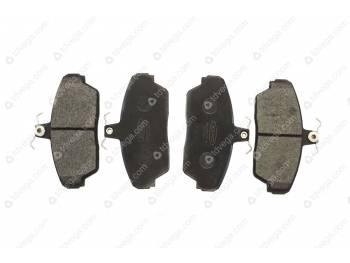 Колодка тормозная дисковая переднего тормоза Газель, ГаZ 3110, Собол_ь.( КИТ)  (KNG-3501170-61) (3302-00-3501800-400)