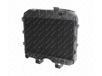 Радиатор водяного охлаждения 3-х рядный (МЕДНЫЙ) УАЗ 452, 469 карб. (Композит Групп) (15.1301010-01)