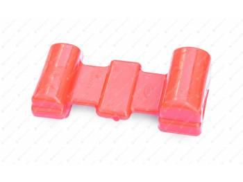 Подушка рессоры (полиуретан) красная,в индив. упаковке (0451-00-2902430-07)