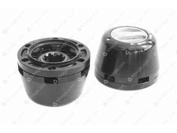 Муфта отключения колес (РУСЬ) (2шт) завод /с метал. колпаком/ (3151-20-2304310-00)