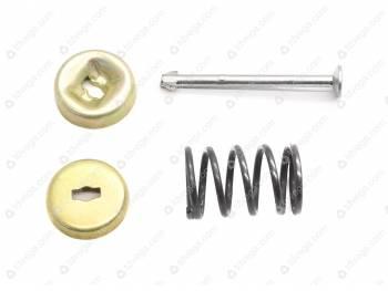 Ремкомплект крепления колодок тормозов колесных передних и задних (кооп) (солдатик)