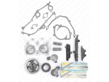 Ремкомплект привода ГРМ ЗМЗ 406,409 PRO (72/92) ЕВРО 2Идеальная фазаполный (двухр. цепь Прибалт (406.3906625-04)