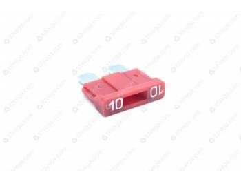 Вставка в блок предохранителя 10 А пластм. н/о  (min 10) (35.3722-02)