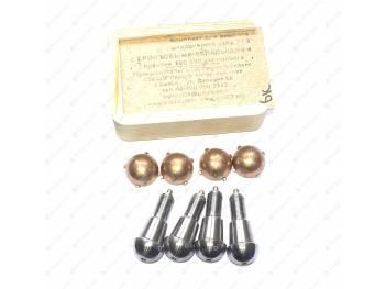 Ремкомплект шкворневого узла с/о(4 уса,вкладыш бронз., без ключа) (Ваксойл-Сервис) (БК)