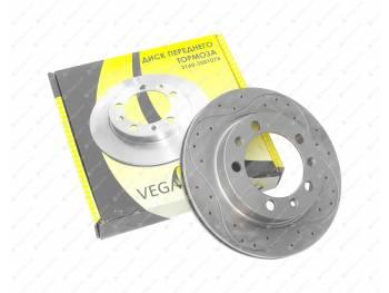 Диск тормозной передний УАЗ Sport перфорированный (3160-00-3501076-01)