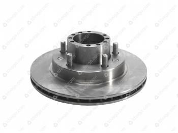 Ступица переднего колеса с торм.диском импульсным в сб.++ (3163-00-3103010-00)
