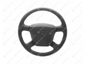 Колесо рулевое Патриот с сигнальной кнопкой (4 спицы) (3163-00-3402010-10)