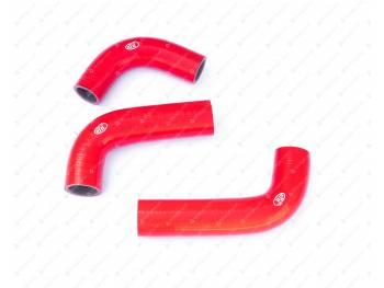 Патрубки радиатора УАЗ дв. 421 (легковой) (3 шт) (силикон)
