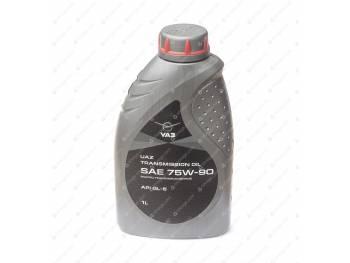 Масло трансмиссионное УАЗ SAE 75W90, API,GL-5 1л (0000-00-4734012-00)