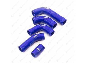 Патрубки радиатора УАЗ 315195 Хантер дв. 421 инж. (5 шт) (силикон)