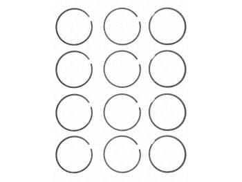 Кольца поршневые 87,0 ЗМЗ-514 (KNG-1000100-50) (514.1000100)