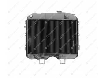 Радиатор водяного охлаждения 2-х рядный (МЕДНЫЙ) (3741-00-1301010-95)