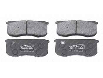 Колодка тормозная дисковая MetalPart (МР-3160-3501090-88)