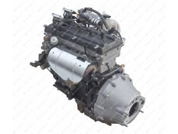 Двигатель ЗМЗ-40911 ( А/М УАЗ СГР,Евро-4,КПП-4ст.,КМПСУД BOSCH,шкиф под 2 полик.ремня,с кроншт.ГУР) (40911.1000400-50)