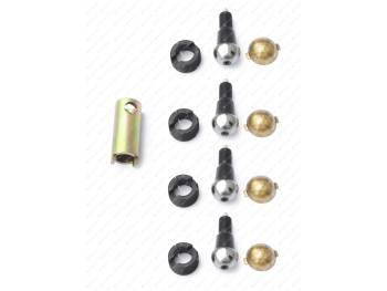 Ремкомплект шкворневого узла 3162, 3163 Спайсер (вкладыш латунный 2 уса) MetalPart (МР-3160-2304014-01)