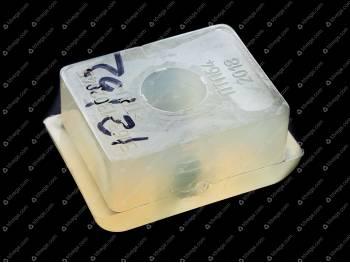 Подушка радиатора нижняя (полиуретан) (3163-1302045)