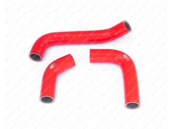 Патрубки радиатора Газель Бизнес дв. УМЗ 4216 (3 шт) (силикон)