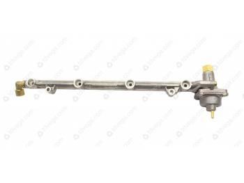 Топливопровод ЗМЗ-40522.10 со штуцером и клапаном без форсунок ПЕКАР (406.1104058-20)