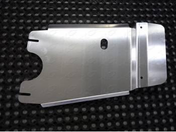 Защита раздаточной коробки на новый УАЗ Патриот (алюм. лист 4 мм)