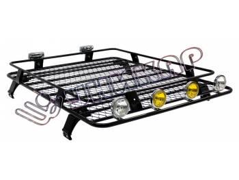 Багажник ВАЗ-2121 Нива корзина с сеткой облегчённая