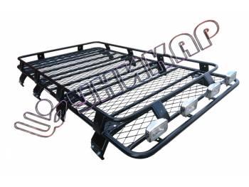 Багажник Toyota Land Cruiser 80 сварной с сеткой