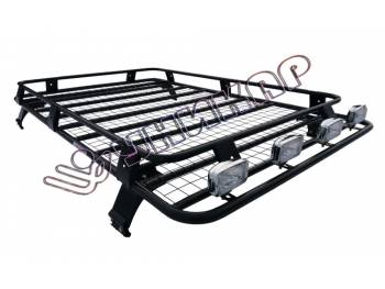 Багажник ВАЗ-2131 сварной с сеткой на 4-х опорах