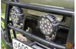 Фара светодиодная водительского света РИФ 6 51W LED,  комплект 2 шт.