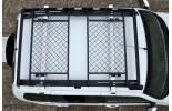 Багажник-корзина двухсекционная универсальная с основанием-решетка (ППК) 1630х1110мм под поперечины