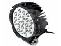 Фара светодиодная CH030B 63W 21 диод по 3W (габаритные размеры 83*82*115*875мм цветовая температура 6000K дальний свет) Черная