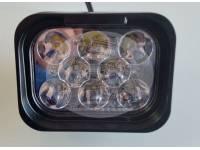 Фара светодиодная CH052 120W 12 диодов по 10W (6 диодов ближнего света + 6 диодов дальнего света габаритные размеры 76*58*103*560мм цветовая температура 6000K свет комбинированный янтарный+белый)