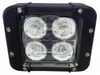 Фара светодиодная CH054 40W 4 диода по 10W (габаритные размеры 91*95*120мм цветовая температура 6000K свет комбинированный)