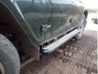Комплект силовых подножек 469/Хантер