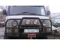"Бампер силовой передний ""Аллигатор"" на УАЗ 452"