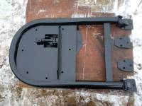 Кронштейн крепления запасного колеса на задней двери УАЗ Патриот не синхронная