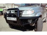 "Бампер передний  силовой ""Беркут-1"" на УАЗ Патриот"