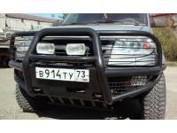 "Бампер передний  силовой ""Беркут-2"" на УАЗ Патриот"